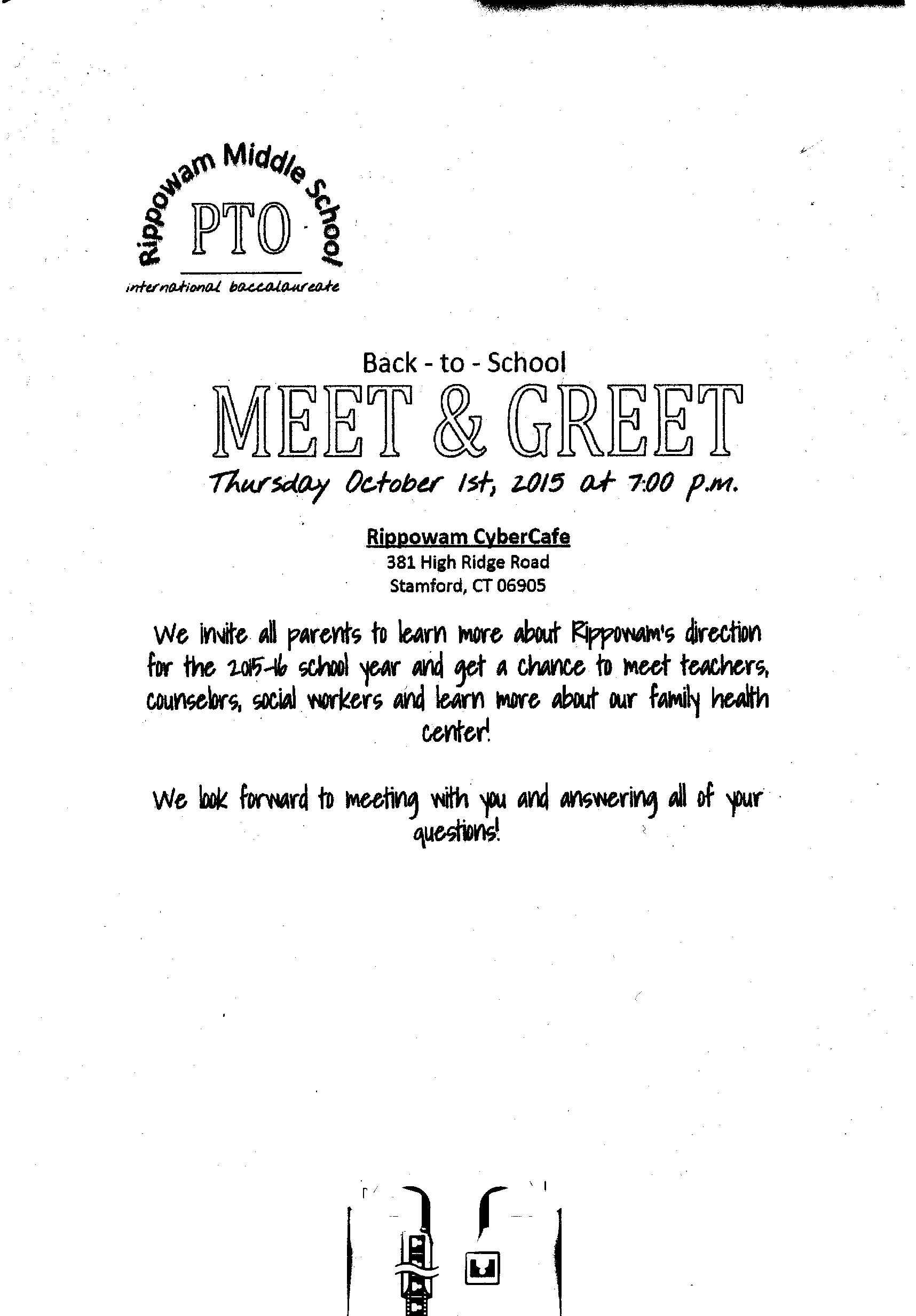 Pto Meet And Greet Ill Be There The Sapia Science Blog